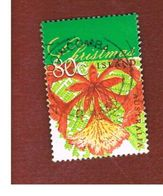 ISOLA CHRISTMAS (CHRISTMAS ISLAND) - SG 464 - 1998  CHRISTMAS: FLAME TREE - USED° - Christmas Island