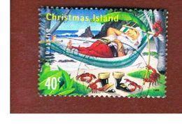 ISOLA CHRISTMAS (CHRISTMAS ISLAND) - SG 473 - 1999  CHRISTMAS: SANTA CLAUS                 - USED° - Christmas Island