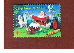 ISOLA CHRISTMAS (CHRISTMAS ISLAND) - SG 474 - 1999  CHRISTMAS: SANTA CLAUS                 - USED° - Christmas Island