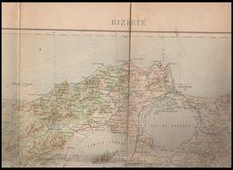 CARTE     BIZERTE - Cartes Géographiques