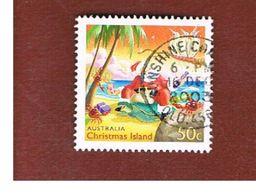 ISOLA CHRISTMAS (CHRISTMAS ISLAND) - SG 527 - 2003 CHRISTMAS: SANTA CLAUS                - USED° - Christmas Island
