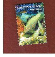 ISOLA CHRISTMAS (CHRISTMAS ISLAND) -  2004 MARINE LIFE: BLUE FISHES                - USED° - Christmas Island