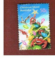 ISOLA CHRISTMAS (CHRISTMAS ISLAND) -  SG 640 -    2008 CHRISTMAS: TREE               - USED° - Christmas Island