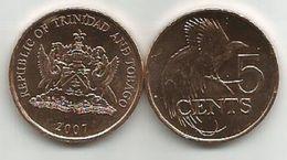 Trinidad And Tobago 5 Cents 2007. UNC - Trinité & Tobago