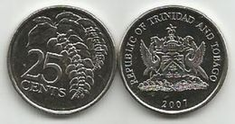 Trinidad And Tobago 25 Cents 2007. UNC - Trinité & Tobago