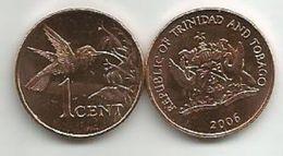 Trinidad And Tobago 1 Cent 2006. UNC - Trinité & Tobago