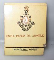 HOTEL MONTEJO PALACE MEXICO FIAMMIFERI - Scatole Di Fiammiferi
