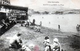 Cpa (66)--banyuls-sur-mer - La Plage. - Banyuls Sur Mer