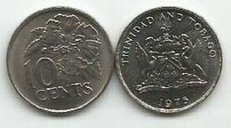 Trinidad And Tobago 10 Cents 1975. - Trinité & Tobago