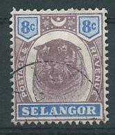 Timbre-Poste MALAISIE Selangor N°: 15 - Selangor
