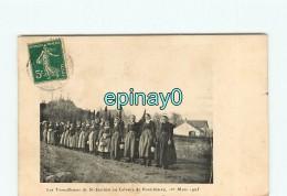 44 - PONTCHATEAU - Les Travailleuses De SAINT JOACHIM Au Calvaire - 1 Mars 1905 - BRIERE - Pontchâteau