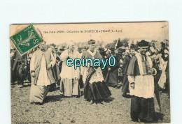 44 - PONTCHATEAU - VENTE à PRIX FIXE - Calvaire -  24 Juin 1909  - Messe - Religion - Pontchâteau