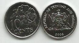 Trinidad And Tobago 10 Cents 2006. UNC - Trinité & Tobago