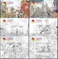 Indonesia - Indonesie New Issue 03-08-2018 (6 Blokken) - Indonesien