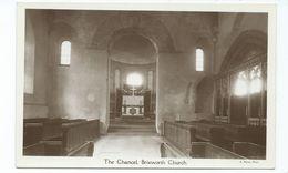 Northamptonshire Brixworth Church. The Chancel . Rp Nelson Photo Unused - Northamptonshire