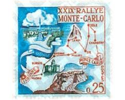 Ref. 44819 * MNH * - MONACO. 1960. 29th MONTECARLO AUTOMOBILE RALLY . 29 RALLY AUTOMOVILISTICO DE MONTECARLO - Voitures