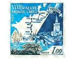 Ref. 44820 * MNH * - MONACO. 1963. 32nd MONTECARLO AUTOMOBILE RALLY . 32 RALLY AUTOMOVILISTICO DE MONTECARLO - Voitures