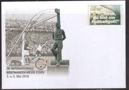 GERMANY, 2018, MINT POSTAL STATIONERY, PREPAID ENVELOPE, FOOTBALL, SOCCER, 1954 WORLD CUP FINAL - 1954 – Schweiz