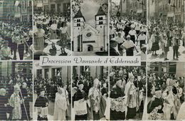 LUSSEMBURGO - Luxembourg - ECHTERNACH - PROCESSION DANSANTE - B/N - VIAGGIATA  1959 - VARESE (ITALIA), - Echternach