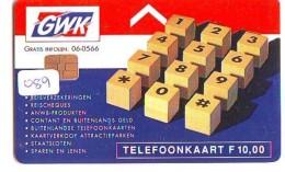 NEDERLAND CHIP TELEFOONKAART CRD-089 * GWK  * Telecarte A PUCE PAYS-BAS * NL ONGEBRUIKT * MINT - Nederland