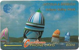 Antigua & Barbuda - Antigua Sailing Week, 13CATA (Silver), 1994, 74.732ex, Used - Antigua And Barbuda