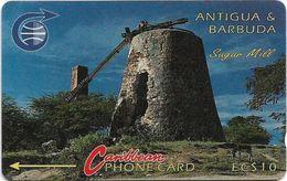 Antigua & Barbuda - Sugar Mill, 4CATA, 1992, 11.500ex, Used - Antigua And Barbuda