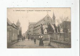 LAPPUYE (VIENNE) 12 LA CHAPELLE LE COUVENT ET ROUTE DE PAIZAY (ANIMATION) 1919 - Autres Communes