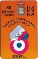 Czechoslovakia - CSFR - Všeobecná Československá Výstava V Praze - 1991, SC6, 50U, 20.000ex, Used - Czechoslovakia