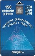 Czechoslovakia - CSFR - Všeobecná Československá Výstava V Praze - 1991, SC6, 150U, 10.000ex, Used - Czechoslovakia