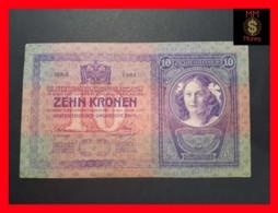 AUSTRIA 10 Schilling 2.1.1904  P. 9  VF - Autriche