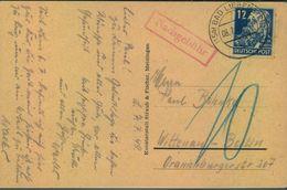 1949, POSTKRIEG, Berlin, Nachgebühr V- BAD LIEBENSTEIN - [5] Berlin