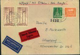 1956, Luftpost-Eilbrief - Berlin (West)