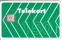NORWAY - Gronn Fiskebein(005E, Matt Surface), Chip SC6, No CN, Tirage 12000, Used - Norway
