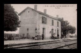 Le Puy Notre Dame - La Gare - Autres Communes