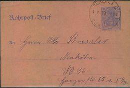 1919, BERLINER POSTGESCHICHTE, Rohpostumschlag, Vordruck - Berlin (West)