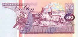 Surinam P.139b 100 Gulden 1998 Unc - Suriname