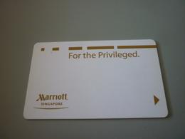 Singapore Marriott Hotel Room Key Card - Hotel Keycards