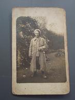 Cpa Chasseur En Pause - War 1914-18