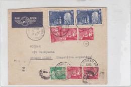ENVELOPE PAR AVION CIRCULEE PARIS TO BUENOS AIRES YEAR 1949 AUTRES MARQUES- BLEUP - France
