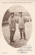 AK Kaiser Wilhelm Und Hindenburg - Rotes Kreuz - 1915  (36224) - Guerra 1914-18