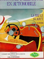CONCOURS D'ELEGANCE EN AUTOMOBILE    LA BAULE 1993 - Programmes