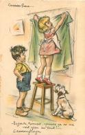 GERMAINE BOURET  EDTION MD N°6 REGARDE NENESSE COMME CA ON NE VOIT RIEN DU TOUT - Bouret, Germaine