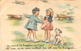 GERMAINE BOURET  EDTION MD N°60  ON PREND LE BAPTEME DE L'AIR - Bouret, Germaine
