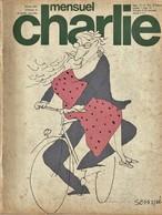 Rare Revue  Mensuel Charlie N° 104 Septembre 1977 - Magazines Et Périodiques