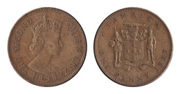 Jamaica / 1967 / 1 Cent / KM: 39 / VF - Jamaica