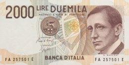 Italy 2.000 Lire, P-115 (1990) - UNC - [ 2] 1946-… Republik