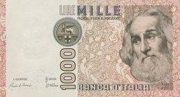 Italy 1.000 Lire, P-109a (1982) - UNC - [ 2] 1946-… Republik