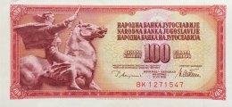 Yugoslavia 100 Dinara, P-90a (12.8.1978) - UNC- - Jugoslawien
