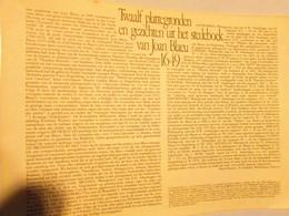 12 Platte Gronden En Gezichten Uit Het Stedenboek Van Joan Blaeu 1649 - Planches & Plans Techniques