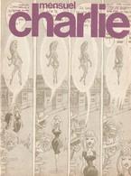 Rare Revue  Mensuel Charlie N°105 Octobre 1977 - Magazines Et Périodiques